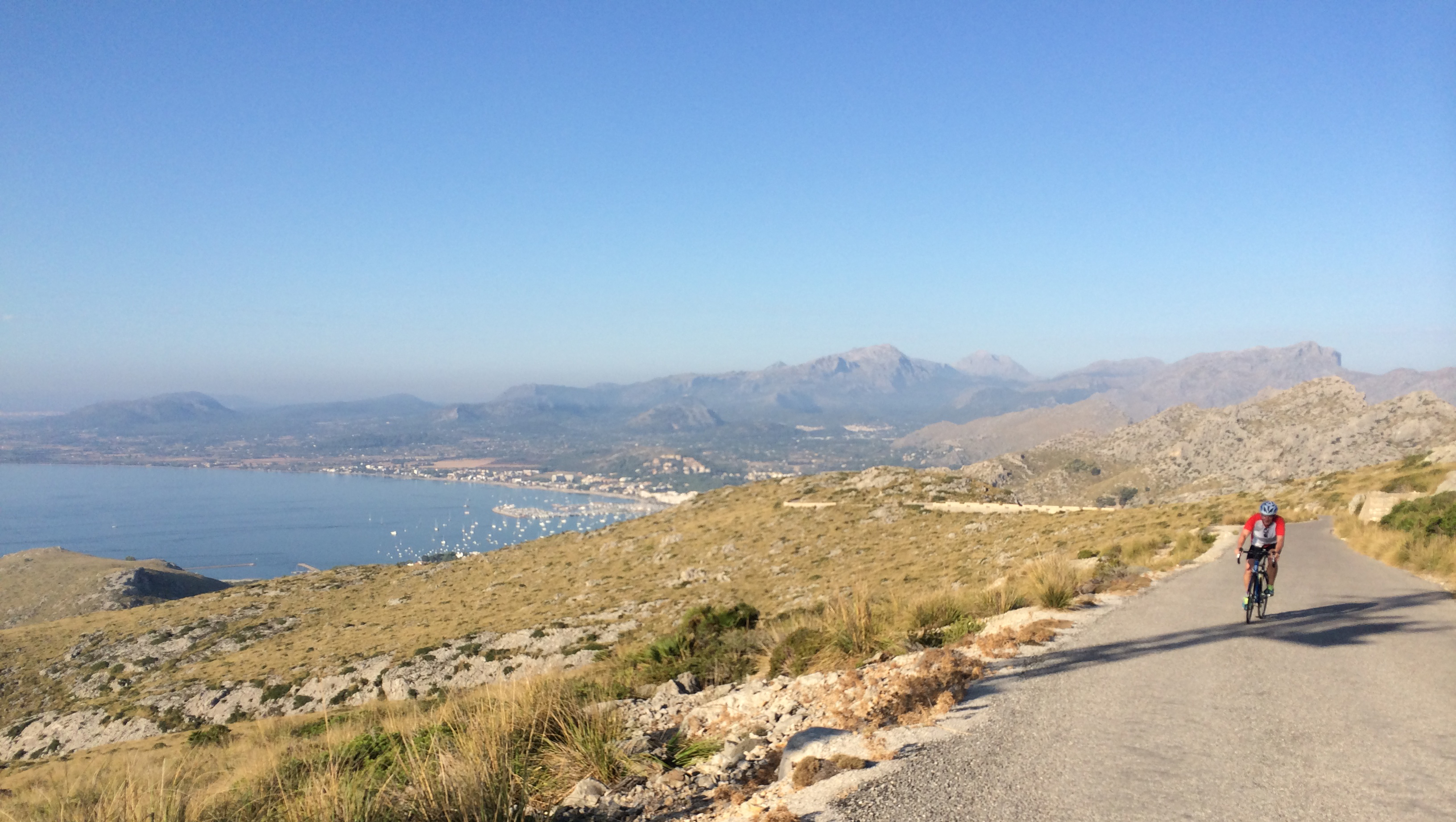 Cycling to Formentor