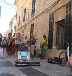 Rumba Band in Pollensa