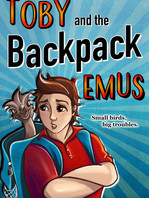 Toby and the Backpack Emus
