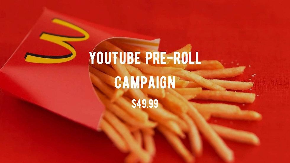 YouTube Pre-Roll Campaign
