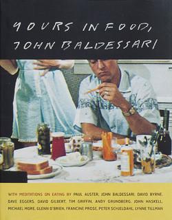 John Baldessari Yours In Food