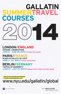 NYU Summer Travel Courses