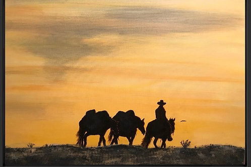 """""""Going Home"""" - Original Painting"""