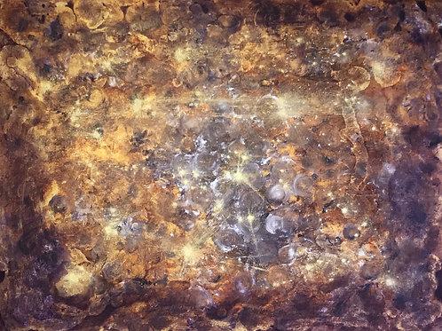 "Original - ""Tiger Eye Galaxy"" (SOLD)"
