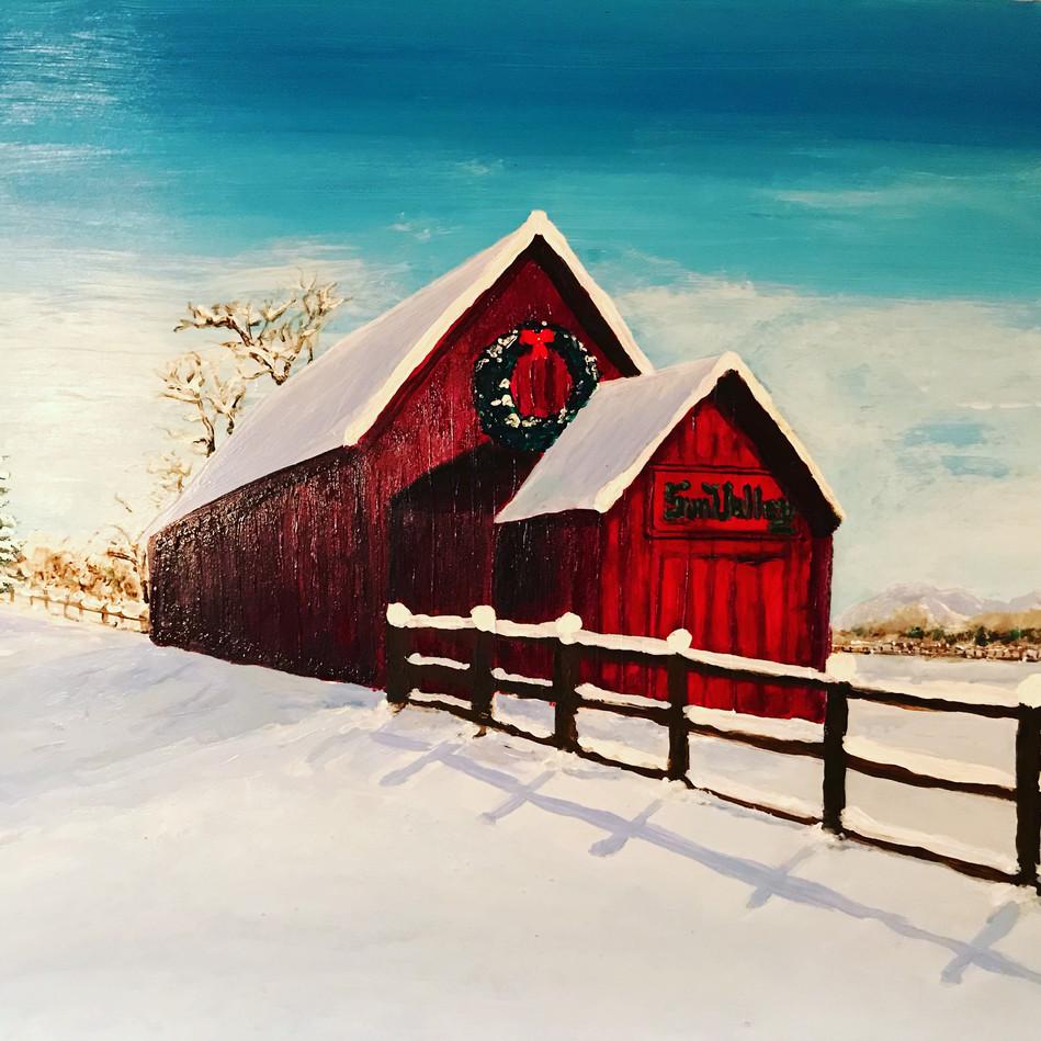 Sun Valley Barn -Winter 2