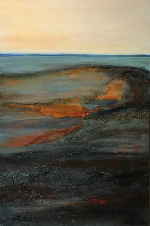 """""""Mars at Dawn"""" - Original Painting"""