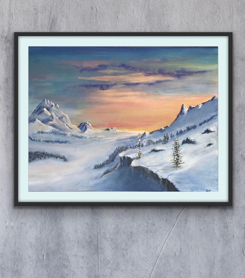 """""""The Highest of Peaks"""" (Sold)"""