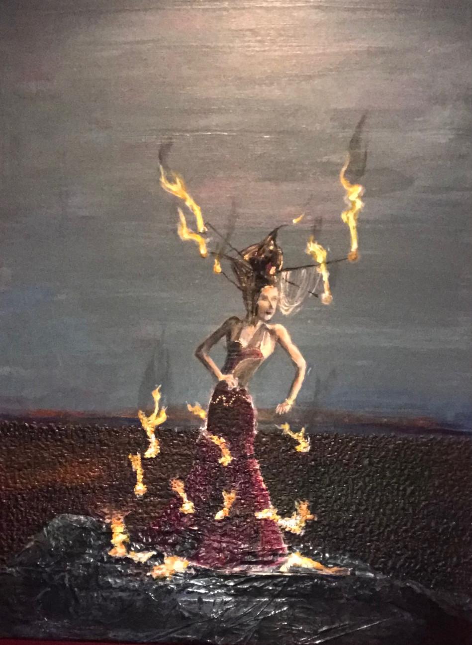 """Dancing through Fire"""