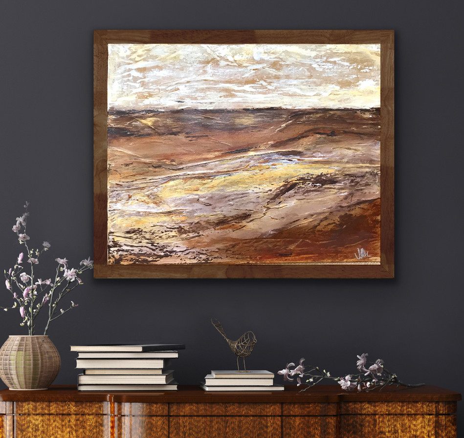 Sand Dunes 2 - SOLD (ASK ME ABOUT A COMMISSION)