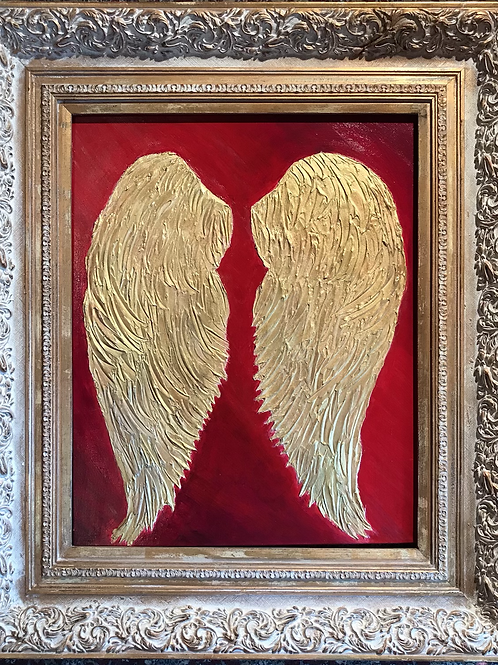 """""""Trust Your Wings"""" (SOLD)"""