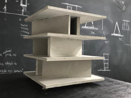 House of Six Concrete Walls