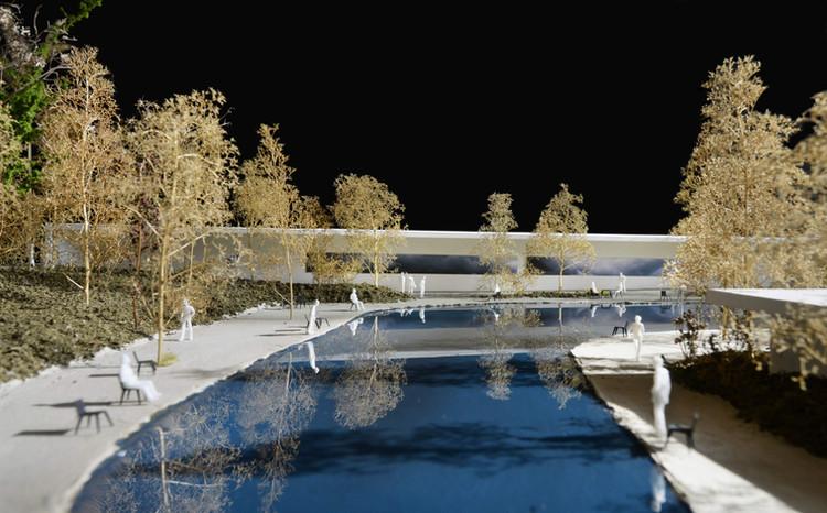 Garden of Silence, Reflection Memorial - Competition Entry