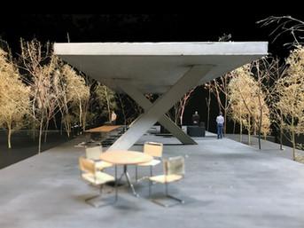 Concrete Pavilion Project
