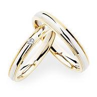 結婚指輪-274370-241628-クリスチャンバウアー鍛造コンビネーションリング