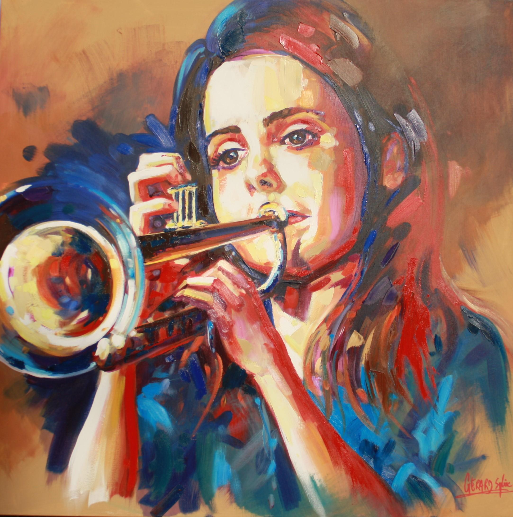 Jeune trompettiste
