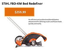 Stihl Kombi FBD-KM Bed Redefiner For Sale   Seven Gables Power Equipment   Smithtown NY