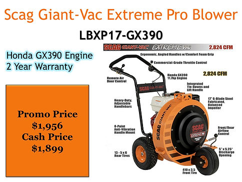 Scag Giant Vac Extreme Pro Wheeled Blower For Sale At Seven Gables Power Equipment Conveniently Located In The Smithtown, 11787, Commack, 11725, Kings Park, 11754, Northport, 11768, East Northport, 11768, Dix Hills, 11746, Huntington, 11743, Melville, 11747, Central Islip, 11722, Islip, 11751, East Islip, 11730, Bayshore, 11706, Bay Shore, 11706, Hauppauge, 11788, Ronkonkoma, 11779, Lake Ronkonkoma, 11749, St James, 11780, Setauket, 11733, Stony Brook, 11790, Lake Grove, 11755, Centereach, 11720, Holtsville, 11742, Selden, 11784, Islandia, 11760, Centerport, 11721, Roslyn, 11576, Massapequa, 11758, Syosset, 11773, Farmingdale, 11735, Bohemia, 11716, Patchogue, 11722, Babylon, 11702, West Babylon, 11707, Suffolk County, Long Island NY Area