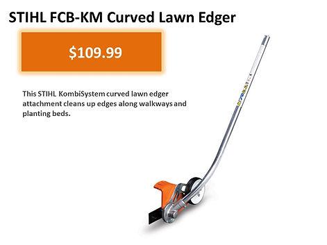 Stihl Kombi FCD-KM Curved Lawn Edger For Sale   Seven Gable Power Equipment   Smithtown Long Island NY