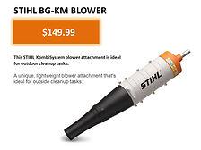 Stihl Kombi BG-KM Blower Attachment For Sale   Seven Gables Power Equipment   Suffolk County Long Island NY