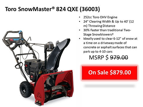 Snow Blowers For Sale in Smithtown NY 11787 | Seven Gables