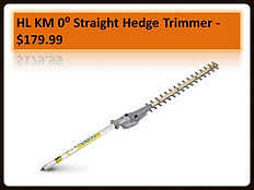 Stihl HL-KM Straight Hedge Trimmer Kombi Attachment For Sale | Seven Gables Power Equipment | Suffolk County Long Island NY