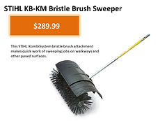 Stihl KB-KM Bristle Brush Kombi Attachment For Sale   Seven Gables Power Equipment   Smithtown Suffolk County Long Island NY