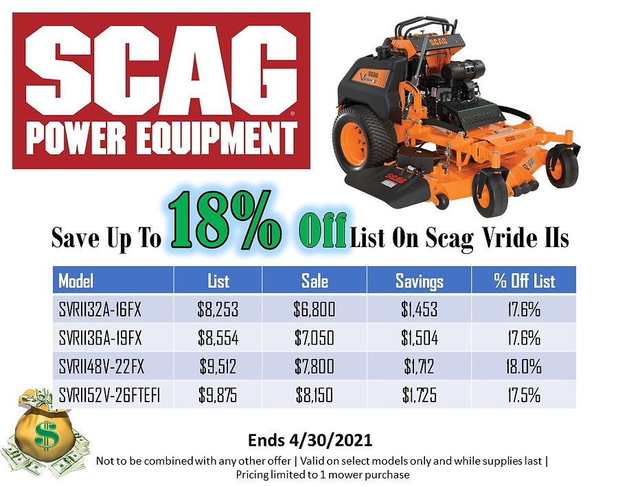 Scag V Ride 2 For Sale At Seven Gables Power Equipment Conveniently Located In The Smithtown, Commack, Kings Park, Northport, East Northport, Dix Hills, Huntington, Melville, Central Islip, Islip, East Islip, Bayshore, Hauppauge, Ronkonkoma, Lake Ronkonkoma, St James, Setauket, Stony Brook, Lake Grove, Centereach, Holtsville, Selden, Islandia, Centerport, Roslyn, Massapequa, Syosset, Farmingdale, Bohemia, Patchogue, Babylon, West Babylon, Suffolk County, Long Island NY Area