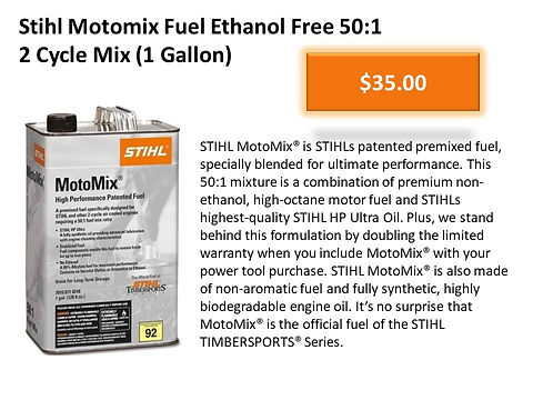 Stihl Motomix 1 Gallon Ethanol Free Pre-Mixed Fuel For 2 Cycle Machines For Sale At Seven Gables Equipment Conveniently Located Near Me In The Smithtown, Commack, Kings Park, Northport, East Northport, Dix Hills, Huntington, Melville, Central Islip, Islip, East Islip, Bayshore, Hauppauge, Ronkonkoma, Lake Ronkonkoma, St James, Setauket, Stony Brook, Lake Grove, Centereach, Holtsville, Selden, Islandia, Centerport, Roslyn, Massapequa, Syosset, Farmingdale, Bohemia, Patchogue, Babylon, West Babylon, Suffolk County, Long Island NY Area