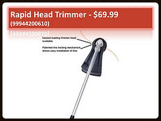 Echo Rapid Head Trimmer PAS Attachment For Sale 99944200610 | Seven Gables Power Equipment | Smithtown, Long Island NY