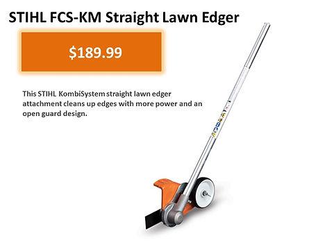 Stihl Kombi FCS-KM Straight Lawn Edger For Sale   Seven Gables Power Equipment   Smithtown Long Island NY
