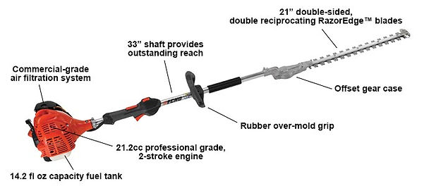 Echo SHC-225 Commercial Grade Hedge Trimmer For Sale In Smithtown, NY 11787