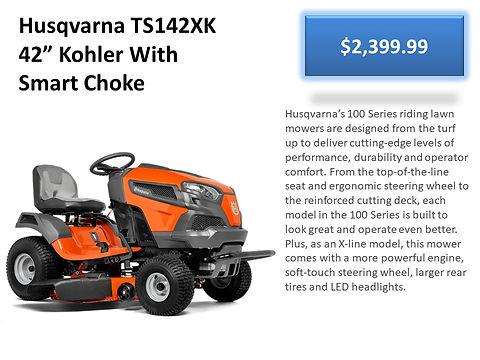 Husqvarna TS142XK Tractor For Sale At Seven Gables Power Equipment Conveniently Located In The Smithtown, 11787, Commack, 11725, Kings Park, 11754, Northport, 11768, East Northport, 11768, Dix Hills, 11746, Huntington, 11743, Melville, 11747, Central Islip, 11722, Islip, 11751, East Islip, 11730, Bayshore, 11706, Bay Shore, 11706, Hauppauge, 11788, Ronkonkoma, 11779, Lake Ronkonkoma, 11749, St James, 11780, Setauket, 11733, Stony Brook, 11790, Lake Grove, 11755, Centereach, 11720, Holtsville, 11742, Selden, 11784, Islandia, 11760, Centerport, 11721, Roslyn, 11576, Massapequa, 11758, Syosset, 11773, Farmingdale, 11735, Bohemia, 11716, Patchogue, 11722, Babylon, 11702, West Babylon, 11707, Suffolk County, Long Island NY Area
