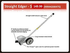 Echo 99944200475 Straight Edger PAS Attachment For Sale | Seven Gables Power Equipment | Smithtown, Long Island NY