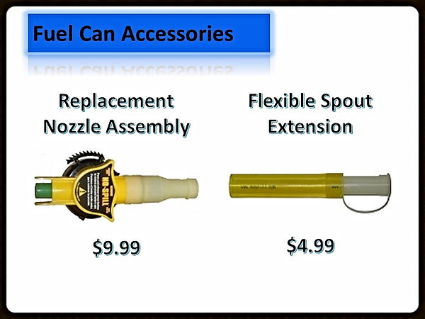 Fuel Can Accessories For Sale | Seven Gables Power Equipment | Suffolk County