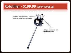 Echo Rototiller PAS Attachment 99944200513 | Seven Gables Power Equipment | Smithtown, Suffolk County, Long Island NY