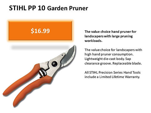 Stihl Garden Pruner For Sale At Seven Gables Power Equipment Conveniently Located In The Smithtown, Commack, Kings Park, Northport, East Northport, Dix Hills, Huntington, Melville, Central Islip, Islip, East Islip, Bayshore, Hauppauge, Ronkonkoma, Lake Ronkonkoma, St James, Setauket, Stony Brook, Lake Grove, Centereach, Holtsville, Selden, Islandia, Centerport, Roslyn, Massapequa, Syosset, Farmingdale, Bohemia, Patchogue, Babylon, West Babylon, Suffolk County, Long Island NY Area