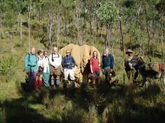 Group at Big Anthill Creek
