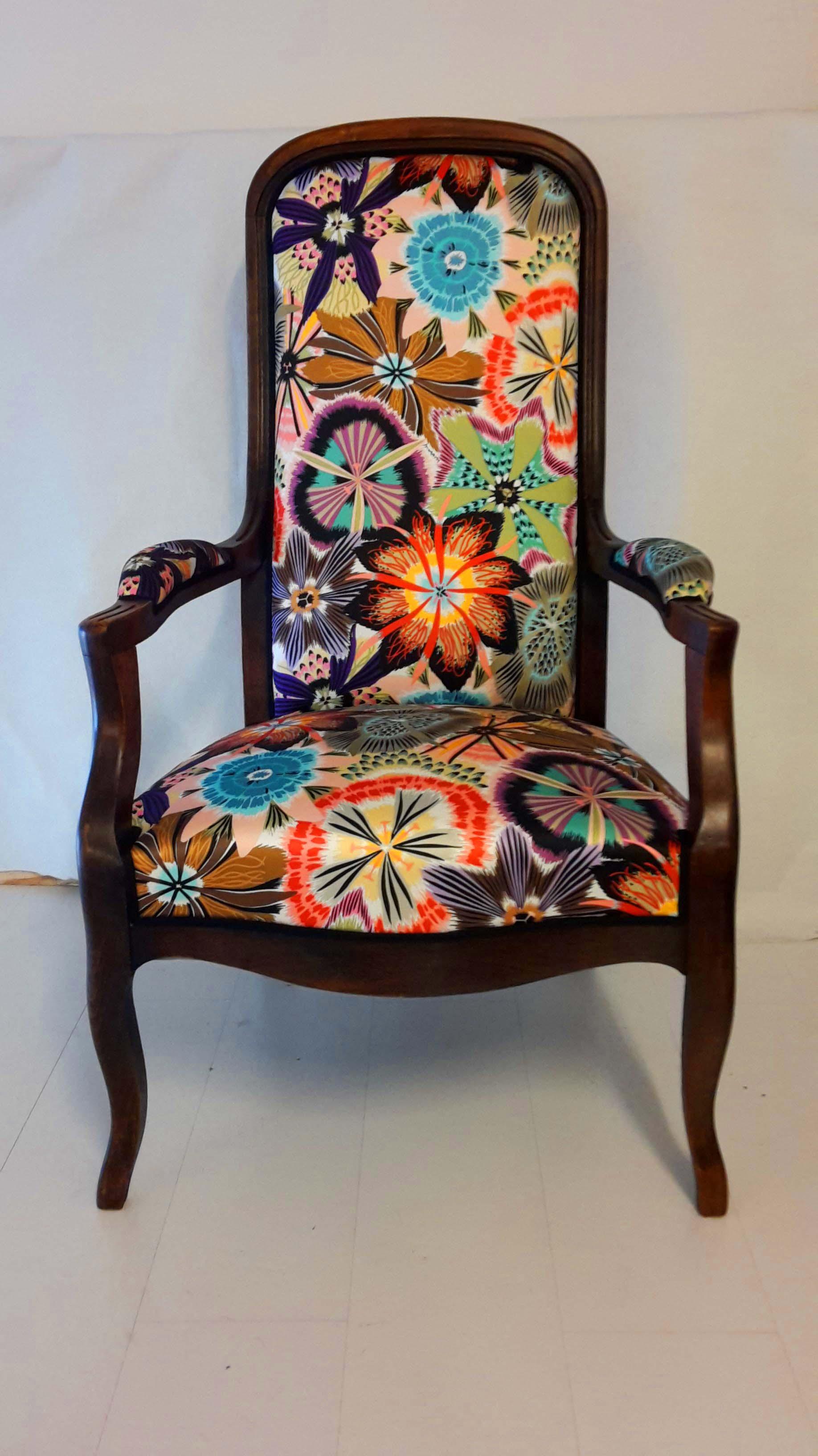 fauteuil-voltaire-tissu-MISSONNI