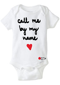 call me by my name onesie