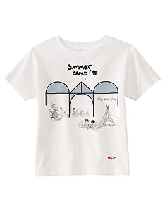 Toddler tee for Big&Tiny Summer Camp