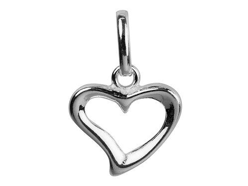 Floating Heart Shape Pendant