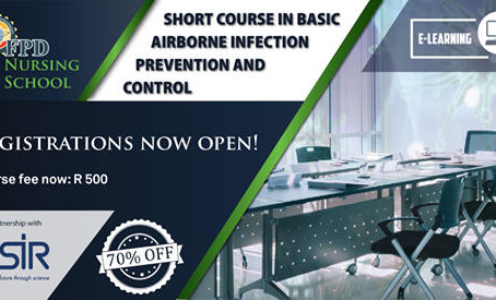 Short Course in Basic Airborne Infection Prevention and Control - Contact Tuition