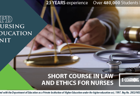 Short Course in Law & Ethics for Nurses