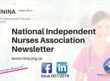 NINA Newsletter issue 007/2019