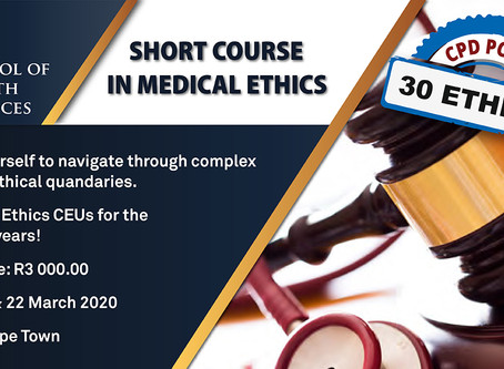 SHORT COURSE IN MEDICAL ETHICS