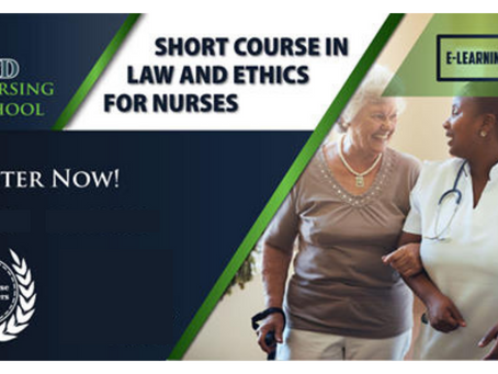 Short Course in Law and Ethics for Nurses - Contact Tuition