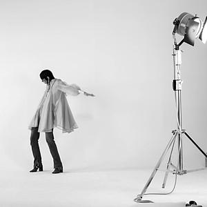 Vogue shooting Backstage