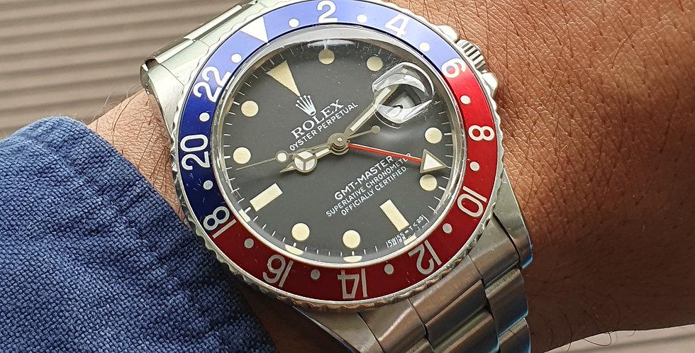 Rolex GMT II Vintage Gents Watch