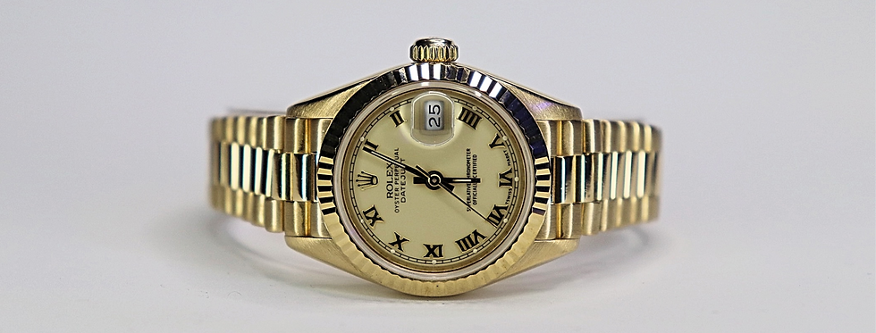 Rolex datejust 18kt 26mm