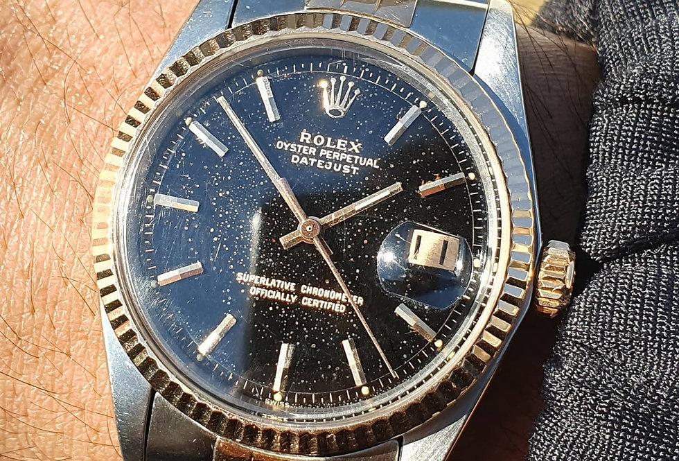 Rolex date just 1601 gilt dial